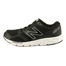 New Balance 490 Mens Lightweight Running Laces Black White size 8 NEW
