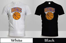 Beastie Boys New York Knicks T-Shirt Mens Black&WHite SHirt