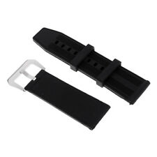 Universal Mens Silicone Watch Band Sport Diver Waterproof Rubber Strap Belt