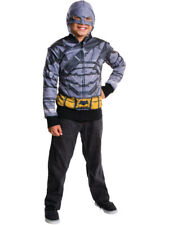 Child's Batman V Superman Dawn Of Justice Armored Batman Hoodie Costume