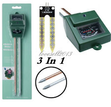 3 in 1 Soil Humidity Tester PH Moisture Light Test Meter for Garden Plant Flower