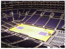 2 Nugets vs LA Lakers PRESEASON 10/2 Tickets LEBRON 2nd Row Section 332 Staples