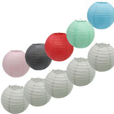 Colorful Paper Lanterns Chinese Lampshade Weddings Party Birthday Decorations