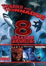 Sharks and Tornados: 8 Creature Features (DVD, 2013, Region 1)