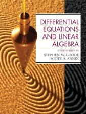 NEW Differential Equations and Linear Algebra by Scott A. Annin