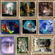 Wolves DIY 5D Diamond Painting Embroidery Wolf Cross Stitch Home Decor Animal