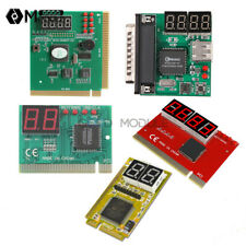2 4 Digit Analyzer 3 in1 PCI PCI-E USB POST Card PC Analysis Diagnostic Card