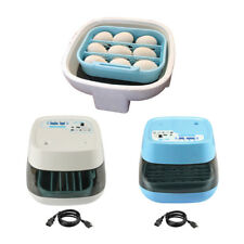 Digital Semi Automatic Egg Incubator 16 Eggs Poultry Chick Duck Bird Hatcher
