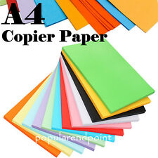 50 Sheets A4 Coloured Card Paper Making Craft Printer Copier Paper - 80gsm