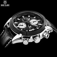 MEGIR Chronograph Casual Watch Men Luxury Brand Quartz Military Sport Watch