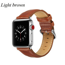 Genuine Leather iWatch Strap Wrist Band For Apple Watch 38/44mm Women Men