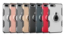 TPU+PC Shockproof Heavy Duty Protective Stand Case Cover for Apple iPhone 7 Plus