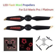 2x 4x Low-Noise LED Flash Word Props For DJI Mavic Pro/Platinum DIY image/Words