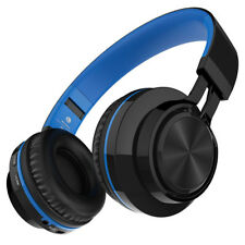 Wireless Bluetooth Bass Headphones Stereo Over-ear Earphones Headset FM Radio