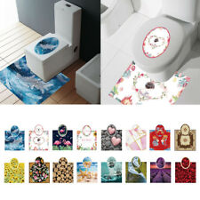 SET Adhesive Toilet Seat Cover/Lid Sticker Decal for Bathroom Decor