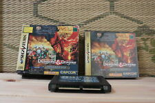 Dungeons & Dragons Collection w/box ram Sega Saturn SS Japan VG  tracked ship!