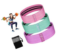Resistance Bands Loop Set of Exercise Workout CrossFit Fitness Yoga Booty Band k