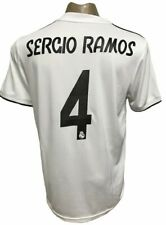 REAL MADRID HOME SOCCER JERSEY 2018-2019 SERGIO RAMOS #4