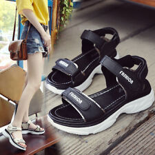 Summer Women Mid Wedge Slingback Sandals Ladies Ankle Strap Open Toe Comfy Shoes