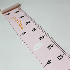 Baby Growth Chart Wall Hanging Height Ruler Foldable Height Measurement Chart