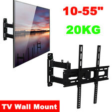 TV Wall Mount Tilt Stand Swivel Bracket Slim Holder 10-55inch LCD LED TV PC Flat