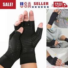 2pcs Copper Fit Arthritis Compression Gloves Hand Support Joint Pain Relief USA