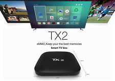 Tanix TX2 Smart Android TV Box Quad-core 2G 16G Bluetooth with IPTV Subscription