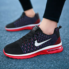 Men Athletic Sneakers Air Cushion Sports Running Shoes Breathable Outdoor Casual