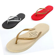 Women's Home Casual Flip Flops Flats Sandals Ladies Beach&Pool Summer Surf Shoes
