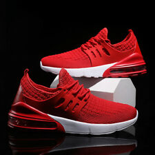 Men's Air Cushion Breathable Athletic Sneaker Sports Running Mesh Walking Shoes
