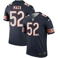 Brand New Nike Chicago Bears Khalil Mack #52 Color Rush Legend Edition Jersey