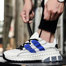 Men's Retro Casual Sneakers Sports Running Walking Shoes Mesh Breathable Fashion