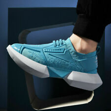 Men's Athletic Sneakers Platform Running Walking Sports Shoes Casual Breathable