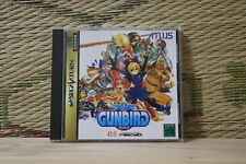 *In Stock* *Authentic* GUNBIRD Sega Saturn SS Japan Very Good+ Condition!