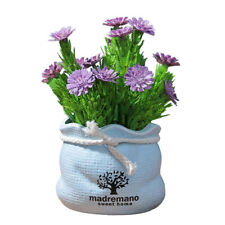 Potted Artificial Daisy Flower Pot Bonsai Fake Plant Home Office Bookstore