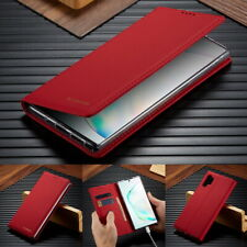 Magnetic Flip Leather Wallet Case Cover For Samsung Note 10 9 S10 S8 S9 Plus S11