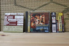 Zen nippon Pro Wrestling Featuring Virtua w/spine table Sega Saturn SS Japan VG!