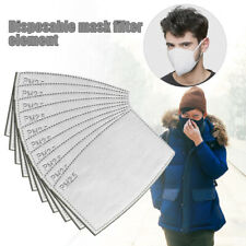10/30pack Anti Haze Dustproof  Flu PM2.5 Square Active Carbon  Filter