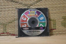 DX Jinsei game disc only edition Sega Saturn SS Japan Very Good Condition!