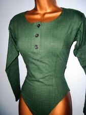 SEXY LADIES GREEN GRAPEVINE BODY TOP SIZE 10 & 12 NEW
