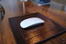 Luxury Hand Made Real Leather Mouse Mat. All Colours