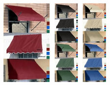 D.I.Y. Fabric Window Awnings Three Sizes & Five Colors