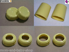 NEW MEDELA STANDARD WIDE BASE CAP COLLAR RING DISK LID