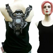 CHOPPER BIKER SKULL Rock TANK TOP SHIRT XS/S/M/L/XL/XXL