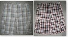 SALE New Baby & Boys Timberland cargo check shorts