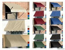 DIY Awnings for Window & Door - 4',6',8' Fabric Awnings