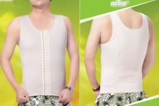 Men VEST Waist Cinhers Girdles  Extra Firm Shaper Back Support Fat Reducer S-5XL