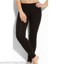 FOOTLESS Stretch Legging Seamless Pant Avravia Designer SD528 Solid Black Coffee