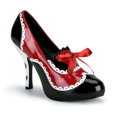 Sexy PLEASER Queen-03 of Hearts Halloween Costume Shoes