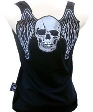 SKULL ANGEL Rock Star Biker TANK TOP SHIRT S/M/L/XL/XXL